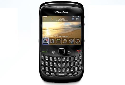 Blackberry curve 8520 software OS V5