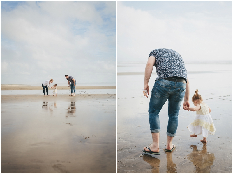 Families playing together at Saunton Sands