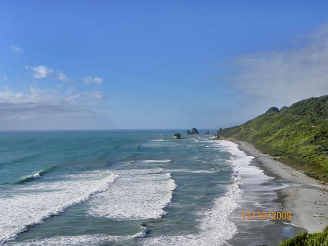 El Mar de Tazmania sobre la costa oeste
