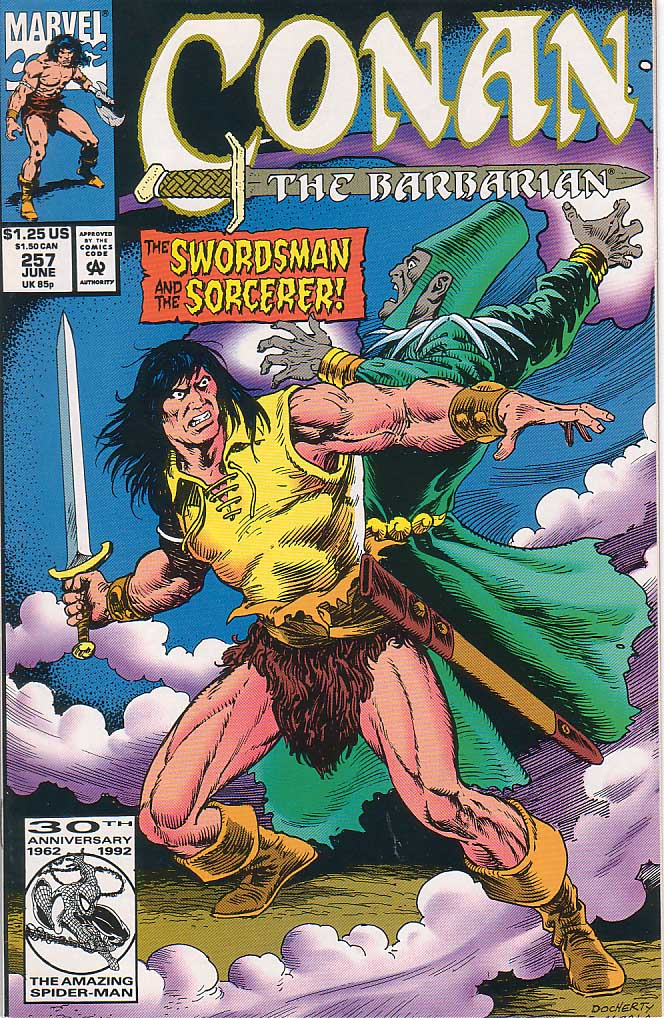 Conan the Barbarian (1970) Issue #257 #269 - English 1