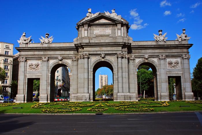 Cd Madrid Monumentos Importantes De Madrid