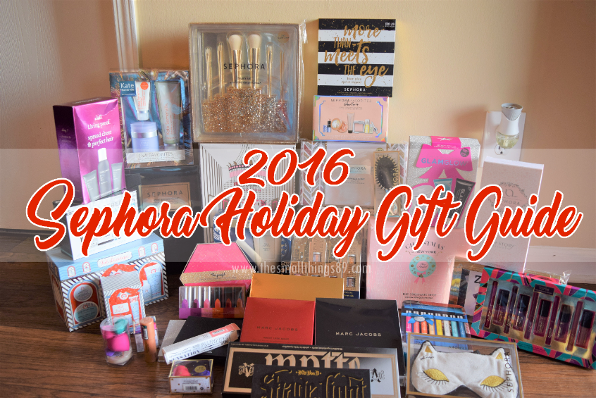 2016 Sephora Holiday Gift Guide