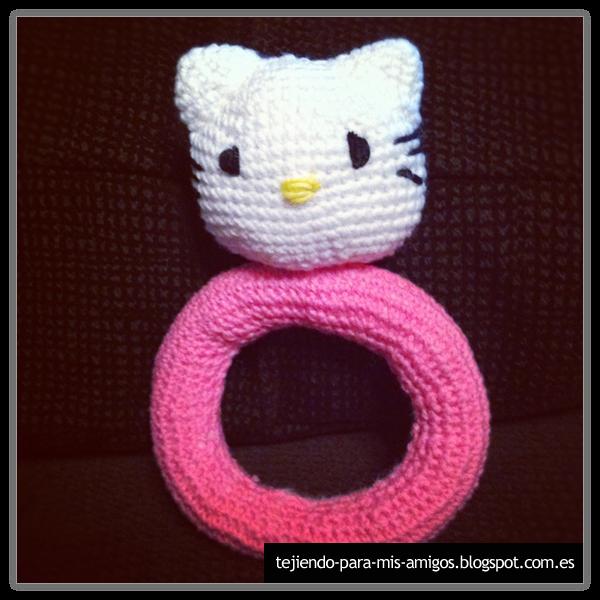 Amigurumi Tutorial Principiantes : Tejiendo para mis Amigos: Sonajeros Hello Kitty y Pocoyo ...