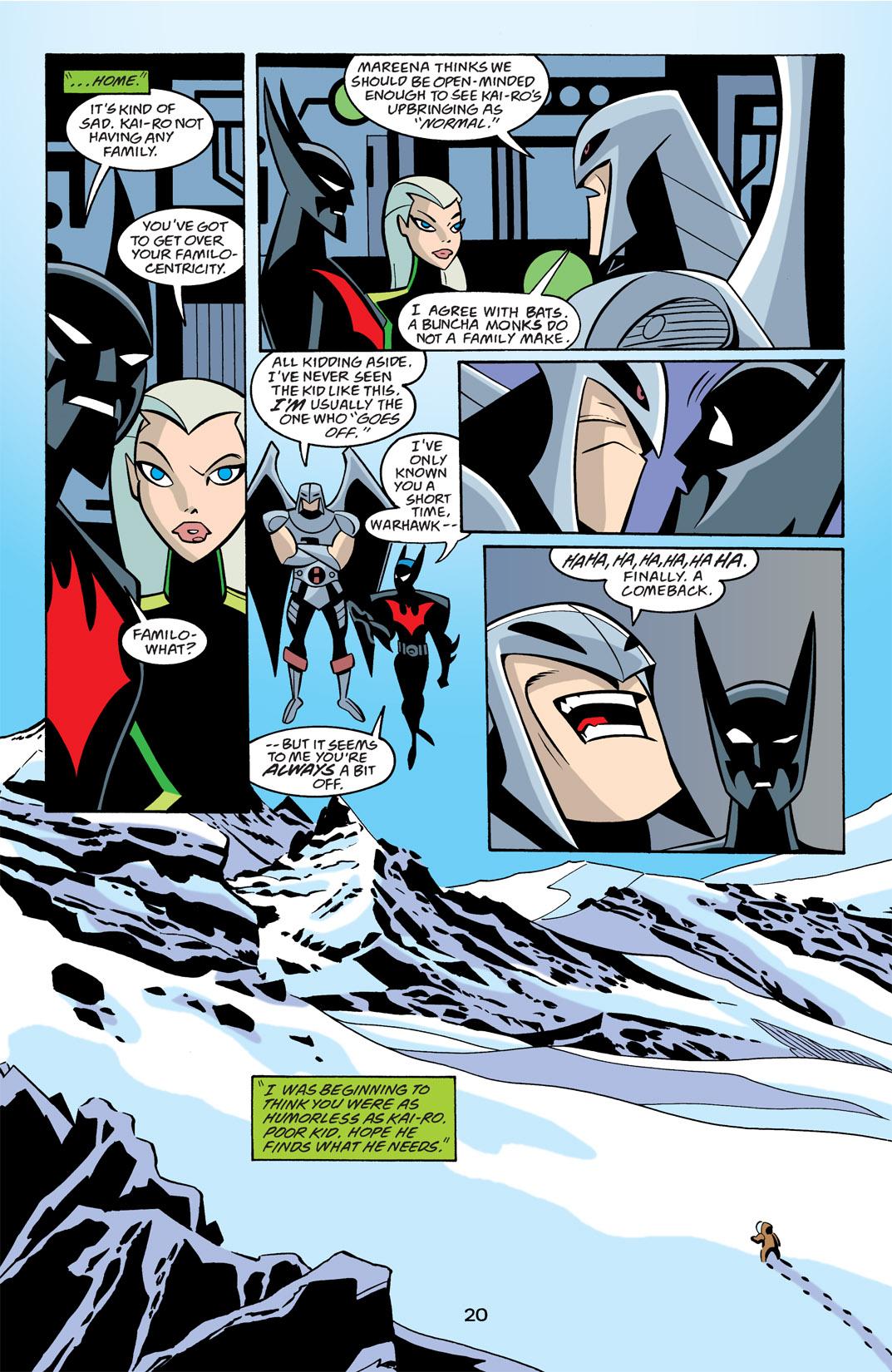 Batman Beyond [II] Issue #21 #21 - English 21