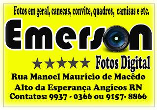 EMERSON FOTOS DIGITAL O MELHOR DA REGIÃO CENTRAL.