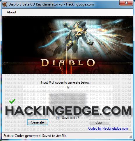 Key Code Generator Diablo 3