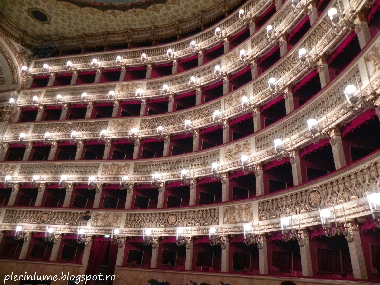 Oglinzile din Teatrul San Carlo