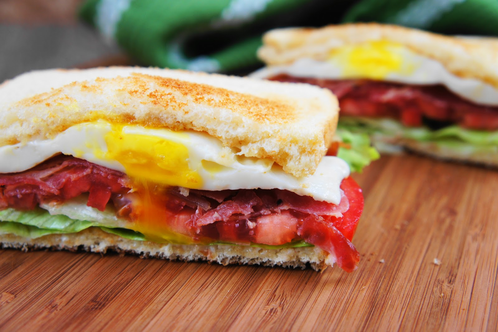 Avocado BLT With Fried Egg And Chipotle Mayo Recipes — Dishmaps