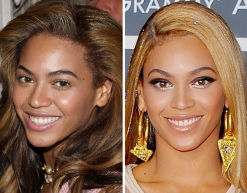 Beyonce sans maquillage