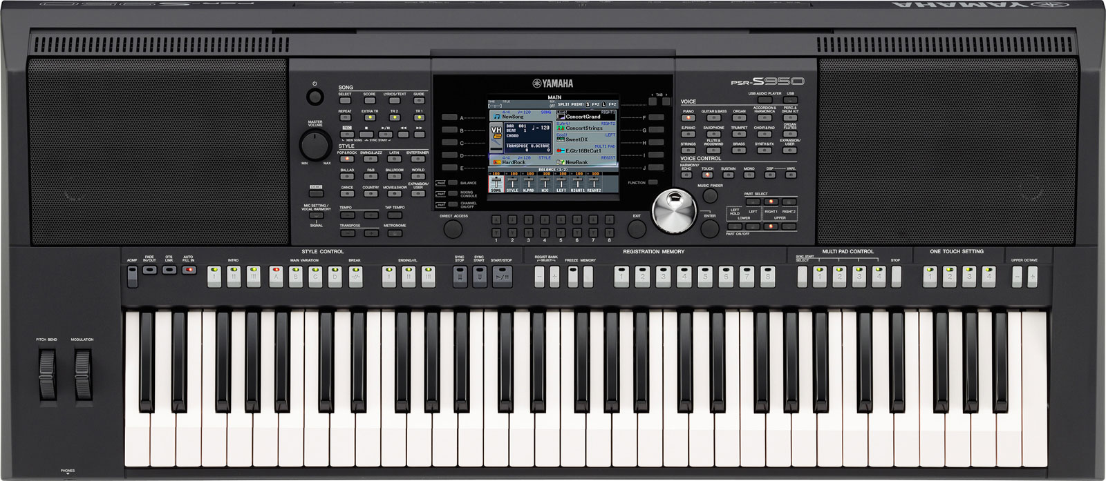 kurnia musik semarang yamaha psr s950 arranger workstations. Black Bedroom Furniture Sets. Home Design Ideas