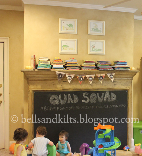 Texas Tales: {DIY} Magnetic Chalkboard Fireplace Cover, aka Baby ...