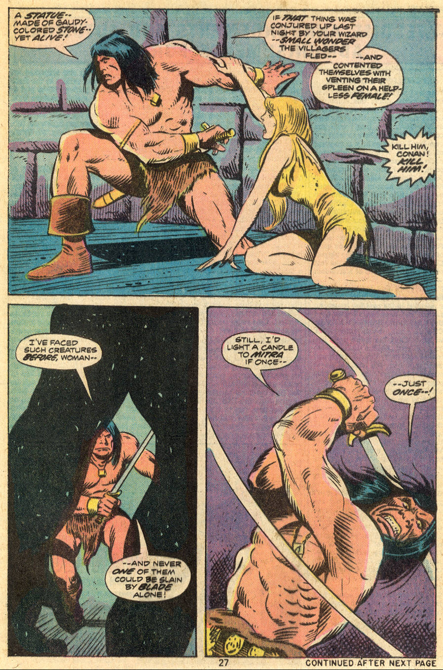Conan the Barbarian (1970) Issue #46 #58 - English 16