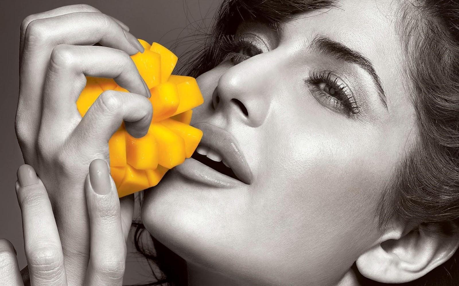 Katrina Kaif Slice Ad Wallpaper HD