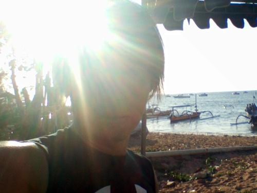 バリ島 サヌール 朝ジョギング