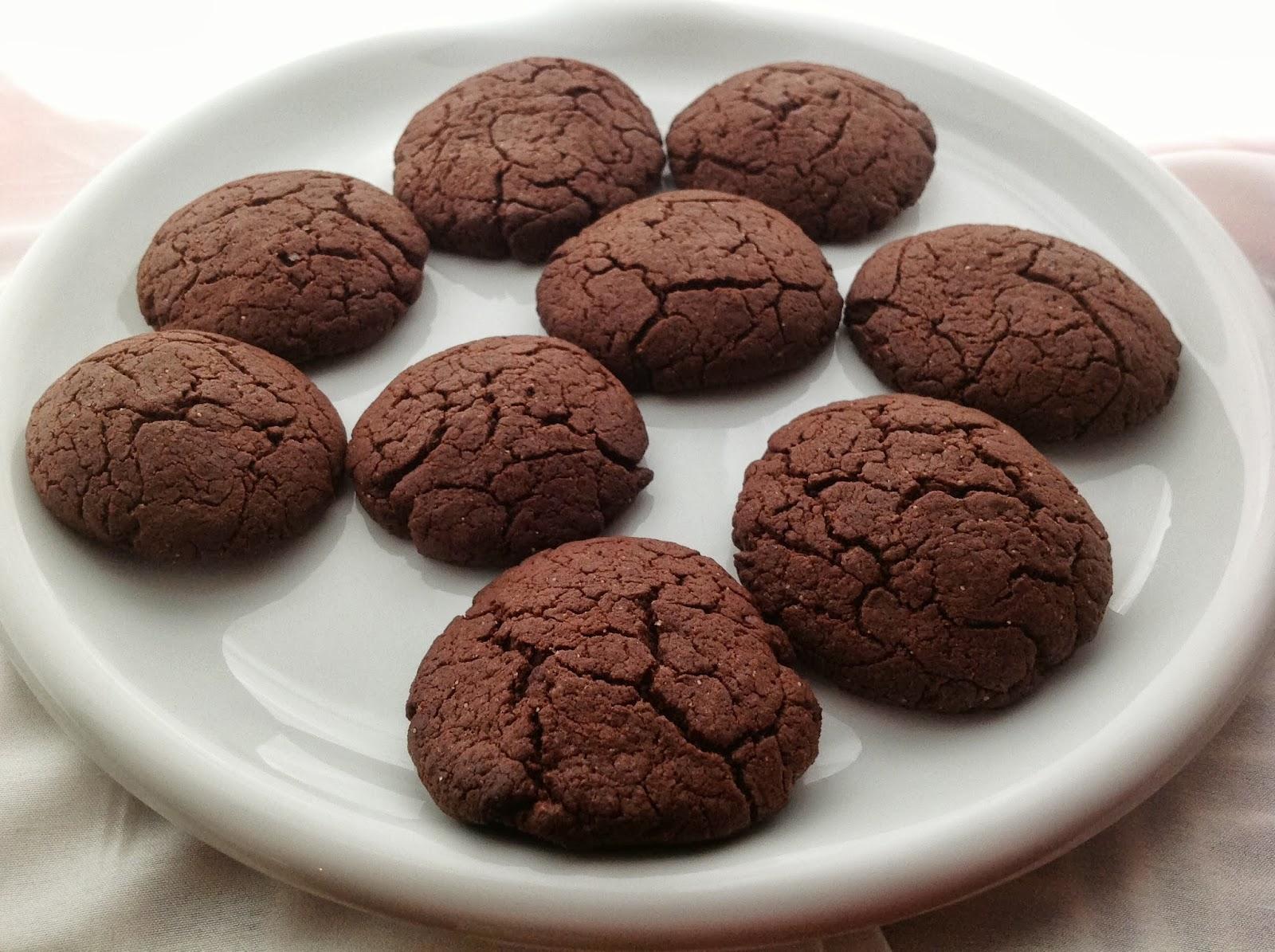 erdnussbutter schokoladen cookies pfeffer zimt minze. Black Bedroom Furniture Sets. Home Design Ideas