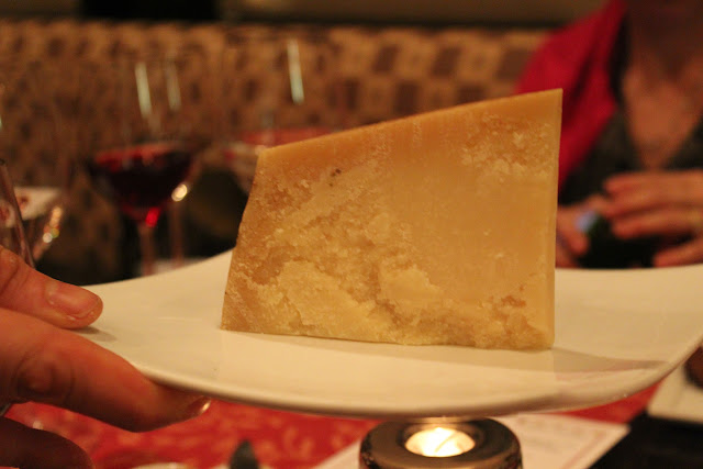 Wedge of Grana Padano