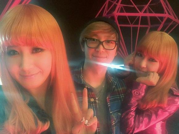 Yuri dan Tiffany SNSD Rambut Pirang