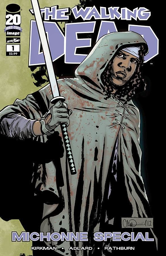 The Walking Dead Comics Portada