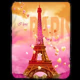 Jual Selimut Kendra Soft Panel Blanket I Love Paris