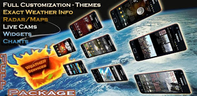 Android Application Weather Services