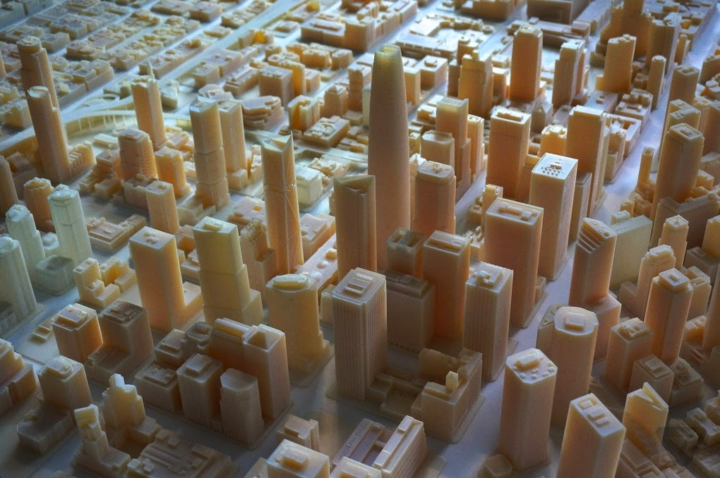 lapercygo this massive 3d printed model shows off san francisco inthis massive 3d printed model shows off san francisco in amazing detail
