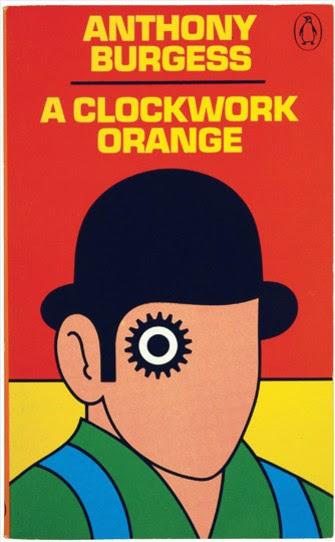 Nos gusta la 1ª de cubierta de... A clockwork orange, de A. Burgess (Penguin)