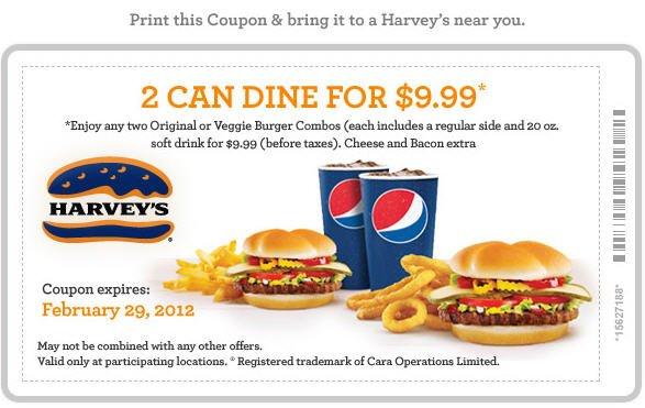 Fast food coupons ottawa