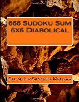 666 Sudoku Sum 6X6 Diabolical