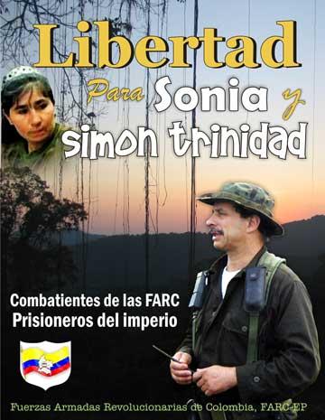Libertad para Sonia y Simón Trinidad