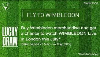 Trendin Lucky Draw offer : Fly To Wimbledon : Buy To Earn