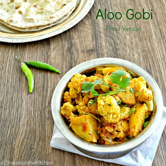 ... in the Kitchen: Aloo Gobi - Potato Cauliflower - Punjabi Aloo Gobi