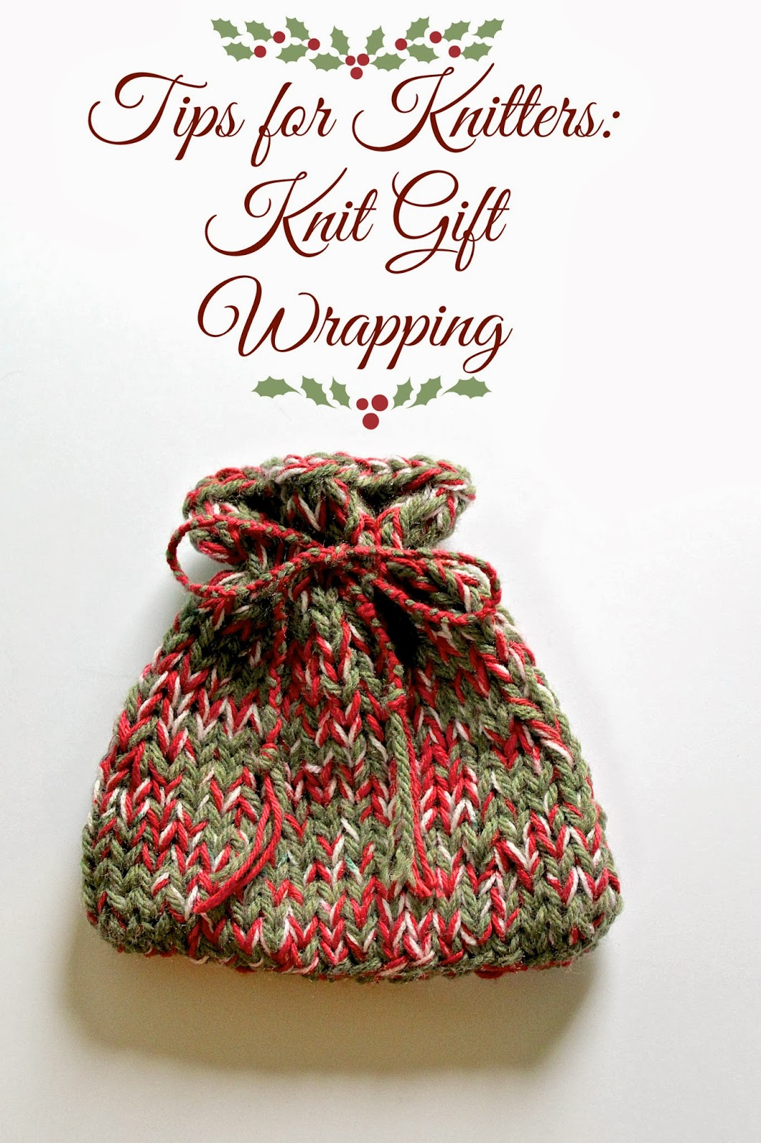 Knitting Gifts : Lexalex: Tips for Knitters: Knit Gift Wrapping