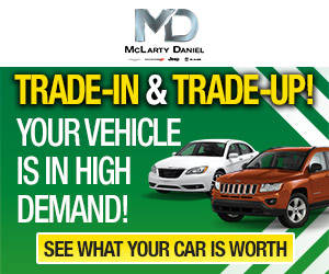 Blog brought to you by these sponsors:       McLarty Daniel Automotive
