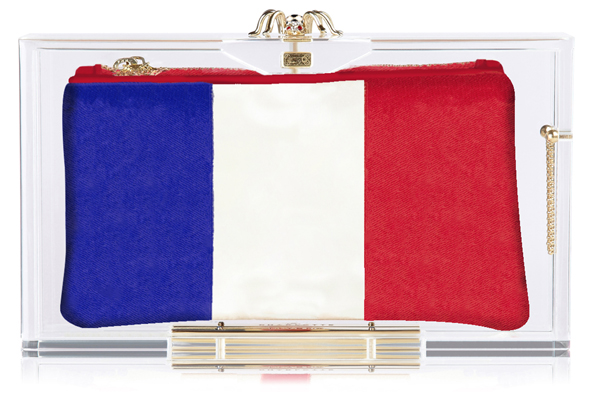 Charlotte Olympia Hat Trick Pandora box clutch France