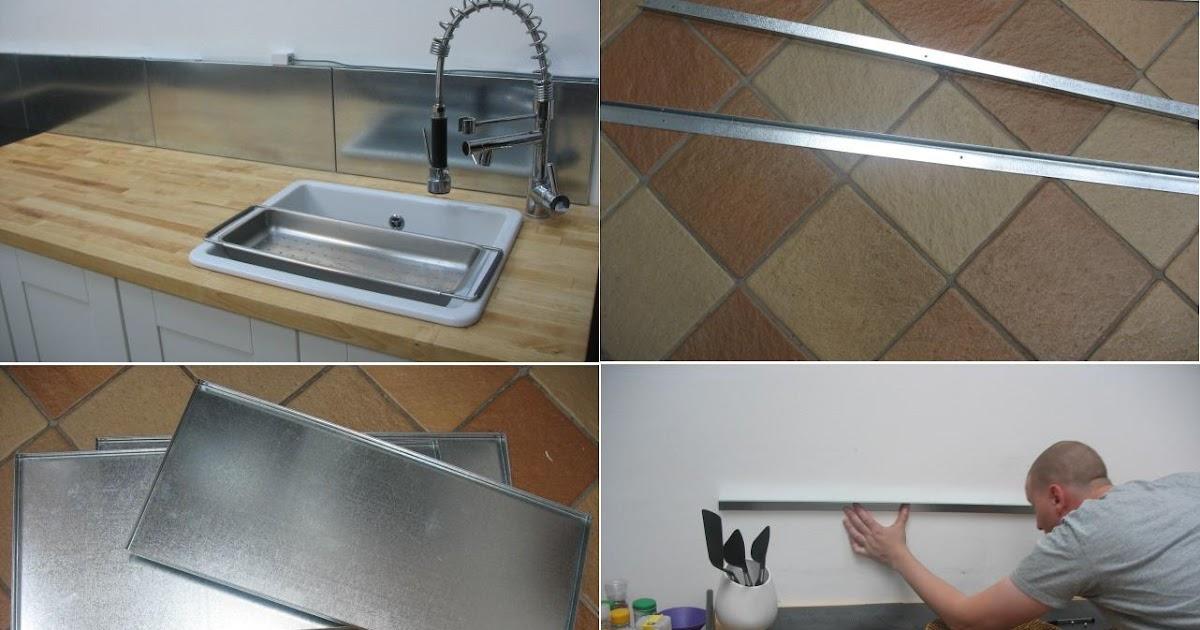 Ikea hack frente de cocina con las estanter as met licas for Estanterias cocina ikea