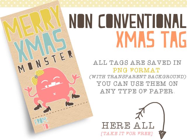Freebies: Christmas Tags...  particolari, non convenzionali