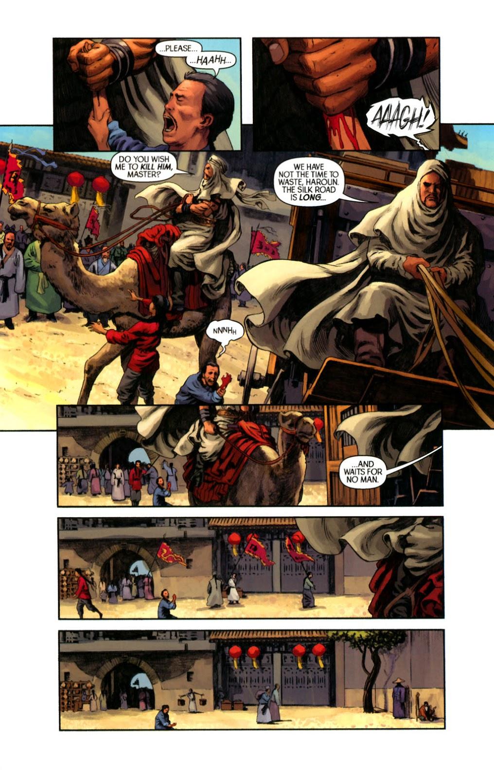 Read online Samurai: Heaven and Earth comic -  Issue #2 - 6