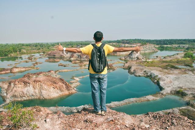 lombong guar petai, lombong tersembunyi menarik di malaysia, lombong air hijau, lokasi percutian menarik, pulau pinang,