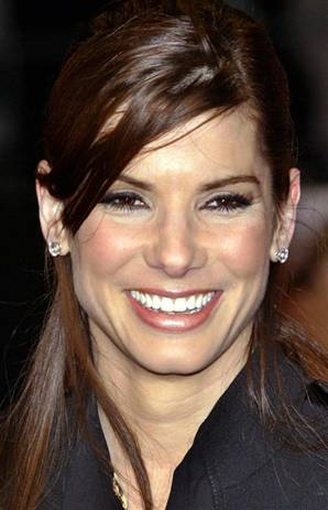 ... the biggest stars in the supermarket rags have been Sandra Bullock, ...