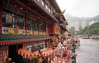 Jumbo Kingdom Aberdeen Harbour Hongkong