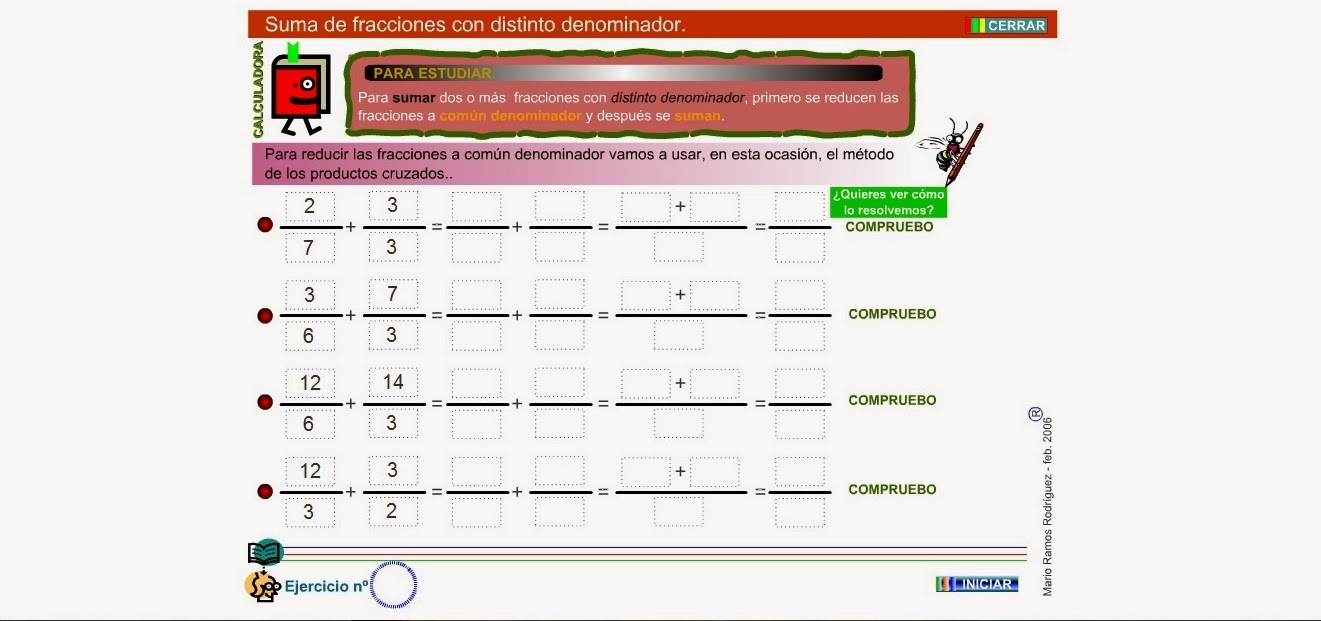 http://www.gobiernodecanarias.org/educacion/3/WebC/eltanque/todo_mate/fracciones_e/ejercicios/suma_pc_p.html