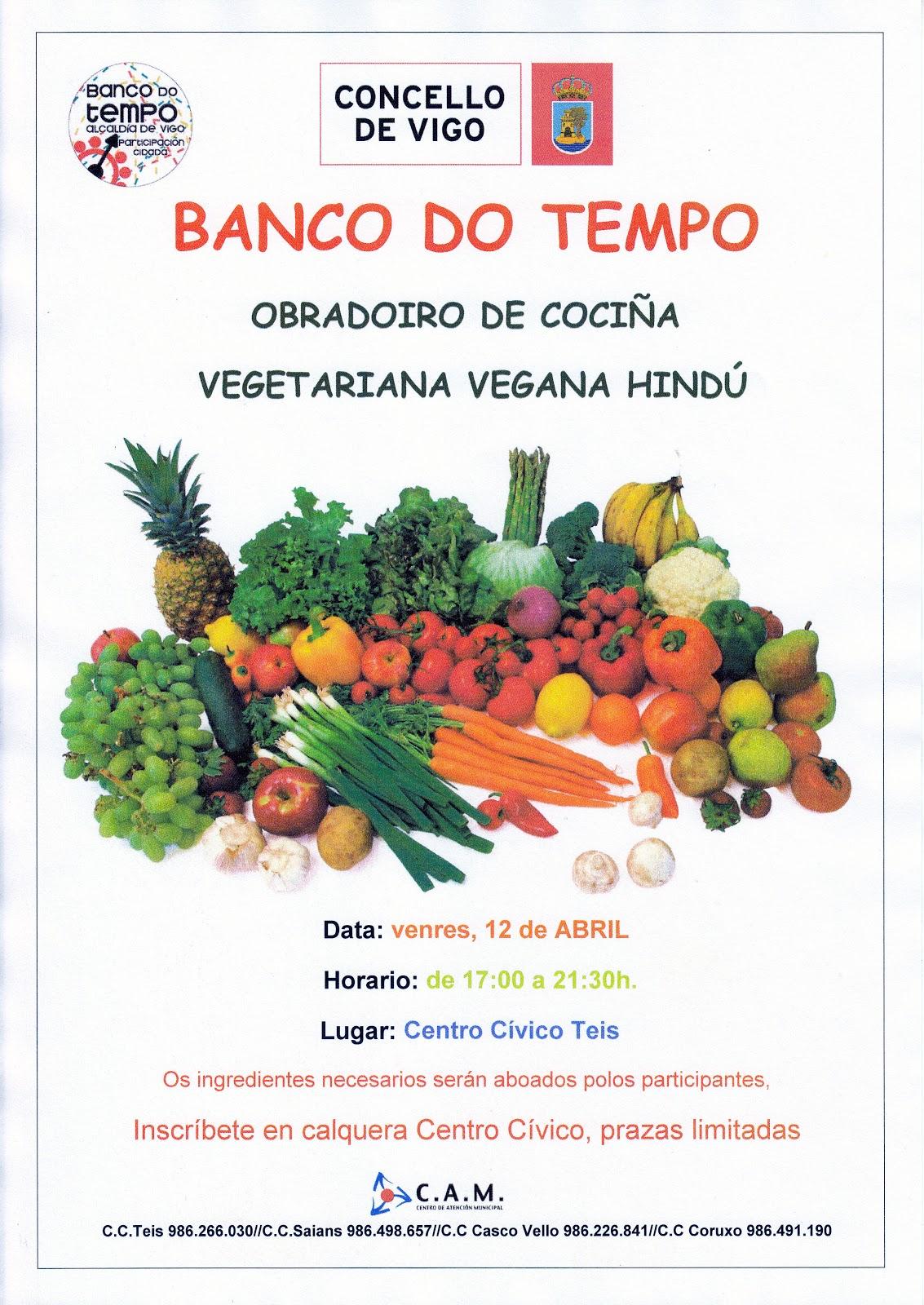 O noso blog obradoiro coci a vegetariana vegana hind for Blogs cocina vegetariana