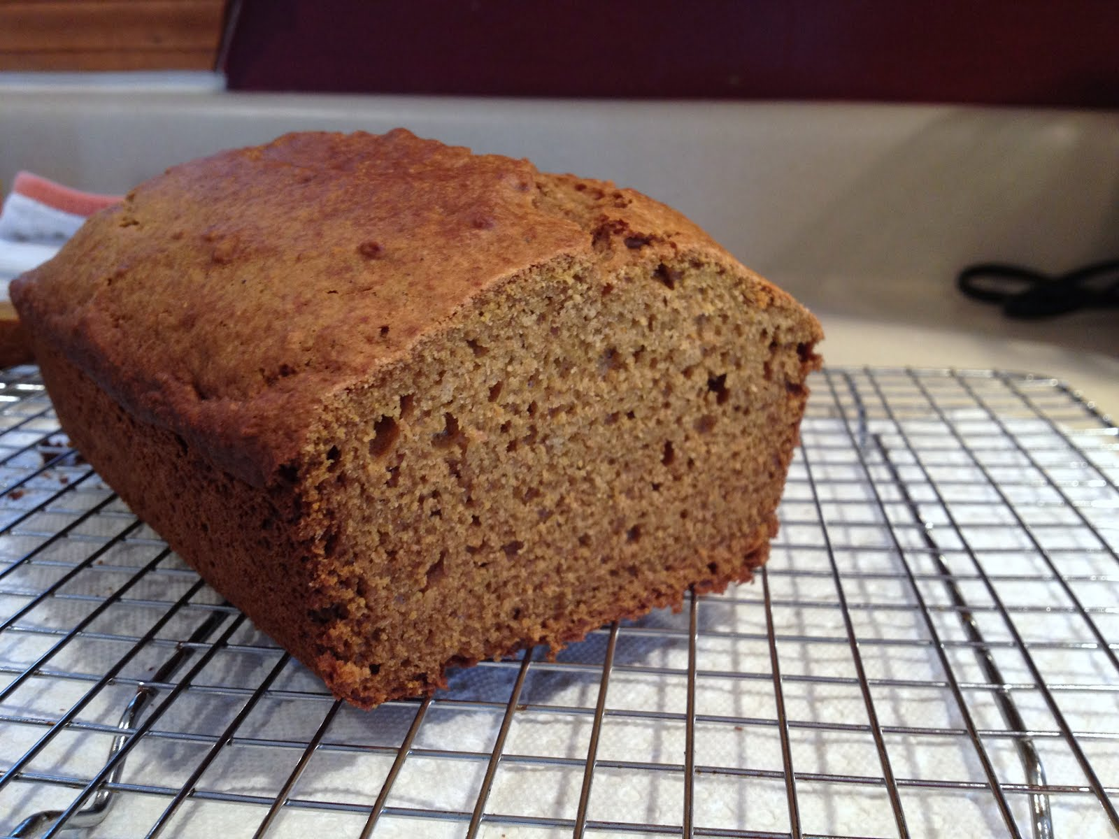 Boston Chef: Olive Oil Pumpkin Bread