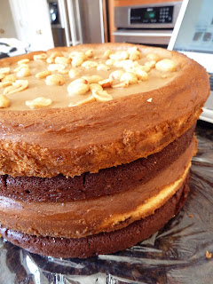 Peanut Butter Cup Chocolate Cheesecake Naked