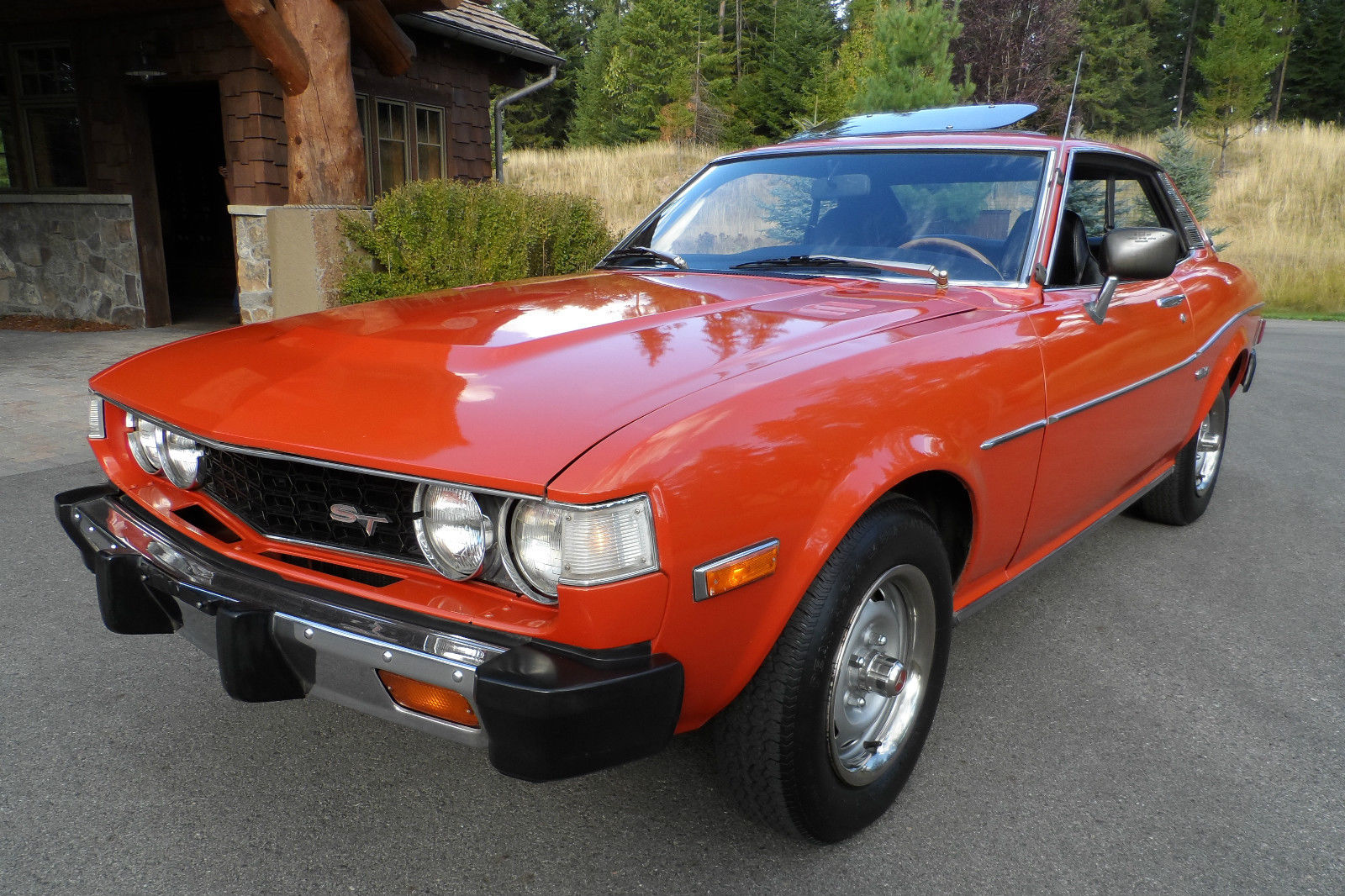 Daily Turismo  Red Survivor  1976 Toyota Celica St
