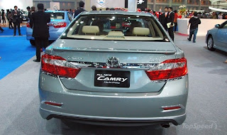new toyota camry 2012 rear view