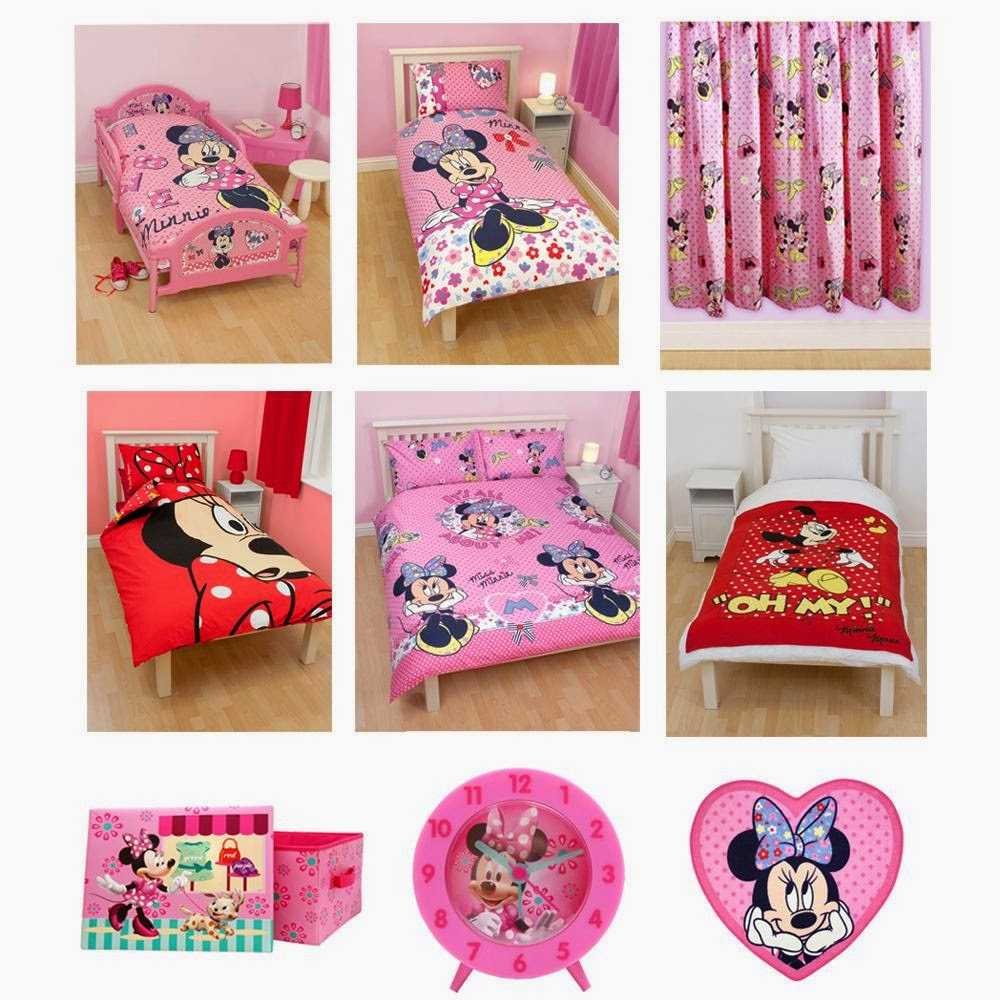 The Marvellous Minnie Mouse Bedroom Bedding Accessories