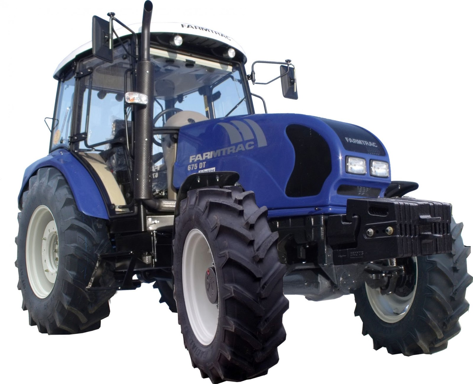 Z Rated Tires >> TractoRate: Farmtrac 675 DT (75hp)
