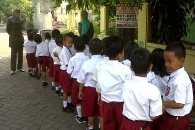 Penerimaan siswa baru kelas 1 SD tidak didasarkan pada hasil tes calistung.