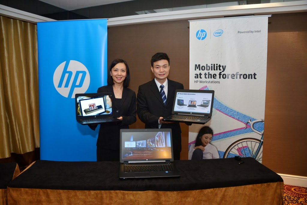 - Wai Mun Loh and Frankie Chan with HP ZBook Mobile Workstations